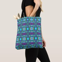 Diamonds and Arrows Perplexity Tote Bag