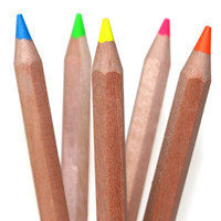 Assorted Eco Dry Highlighters | Stubby Pencil Studios