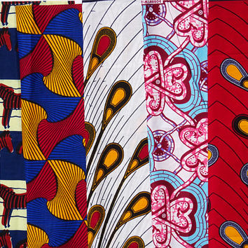 Fat quarter bundle/ African print /  Fat quarters fabric/ Ankara fabric/ Fat Quarter/ Quilting fabric/ Craft supplies/ craft project