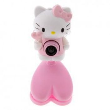 Hot Sale Hello kitty USB Digital Pc Camera Webcam-White Hot Sale At Wholesale Price - Gadgetsdealer.com