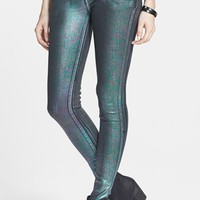 Levi's® 'Core Better Legging' Coated Skinny Jeans (Petrol) (Juniors) | Nordstrom