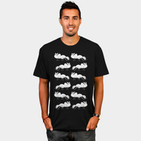 Black And White Ant Pattern T Shirt By Mailboxdisco Design By Humans