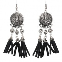 If Only Earrings in Burnish Silver | Monday Dress Boutique