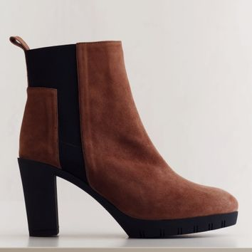 ANKLE BOOT BETA DUSTY BRICK | Rodebjer