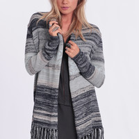 Crashing Waves Fringe Cardigan