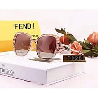 FENDI Fashion Newest Women Casual Summer Sun Shades Eyeglasses Glasses Sunglasses