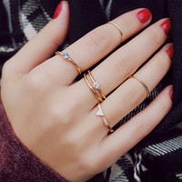 Touch of Finesse Ring Set