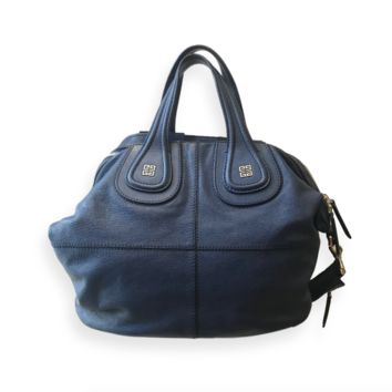Givenchy Blue Nightingale Bag Large