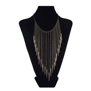 Fallen Spike Necklace