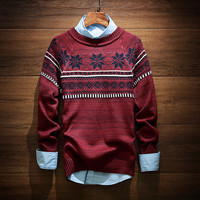 Men's Comfortable Soft Ethnic Sweater