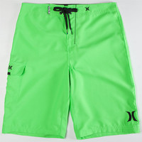 Hurley One & Only Mens Boardshorts Neon Green  In Sizes