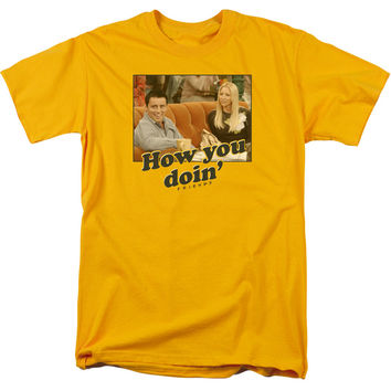 Friends How You Doin Adult Tee Shirt