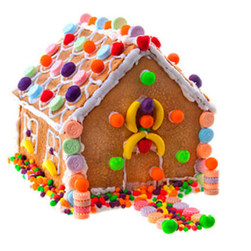 Wonka Candy Gingerbread House Kit