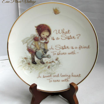 Collectible Plate Lasting Memories Series What is a Sister 1978
