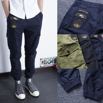 Winter Korean Slim Casual Pants [6544955715]