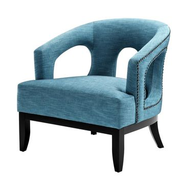 Turquoise Lounge Chair | Eichholtz Adam