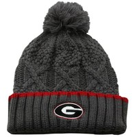 Nike Georgia Bulldogs Ladies Better Knit Beanie - Gray