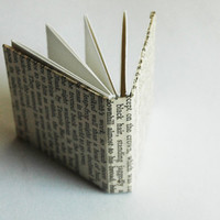 Tiny Miniature Literature Book Notebook Sketchpad Sketchbook