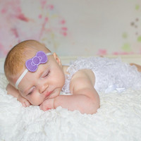 Simple felt headbands perfect for photo prop or everyday wear many colors available