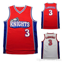 Like Mike Movie version Kevin jersey # 3,Kevin Basketball jerseys Embroidery Logos Basketball Jersey,Free Shipping