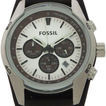 Fossil - Coachman Chronograph Brown Leather Watch