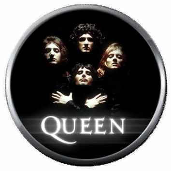 Young Freddie Mercury And Queen Band Members Rock And Roll Hall Of Fame Musicians Legends  18MM - 20MM Fashion Snap Jewelry Snap Charm