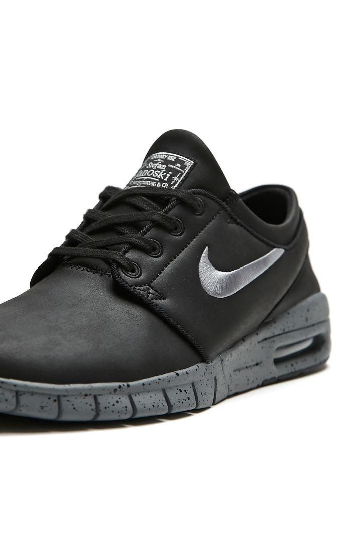 Nike SB Stefan Janoski Max L NYC Shoes - Mens Shoes - Black 58738f523f0c