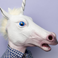 Magic Unicorn Mask | Accoutrements Unicorn Mask | fredflare.com