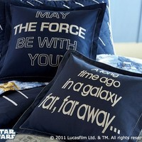 Star Warsâ?¢ Decorative Shams | Pottery Barn Kids
