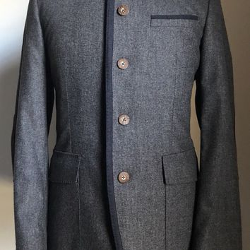 NWT $745 Boss Hugo Boss Leopold Jacket Wool/Cashmere 38R US Made in Germany