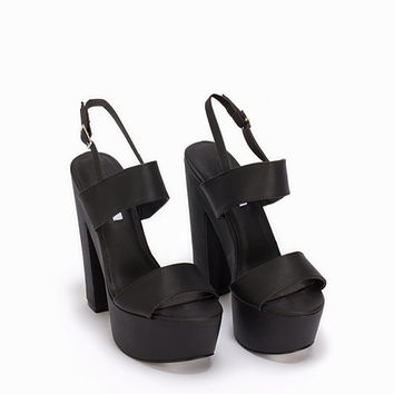 Chunky Platform Sandal, NLY Shoes