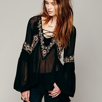 Free People Paths of Fancy Blouse