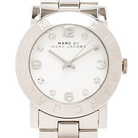 Marc by Marc Jacobs Amy Watch in Metallic Silver