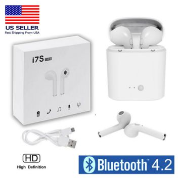 Bluetooth Wireless Headphones, AirPods, Air Pods for Android + Apple iPhone USA