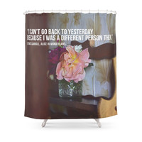 Society6 Alice In Wonderland Shower Curtains