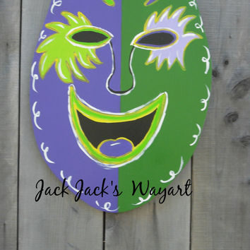 Clearacne Sale  Mardi Gras signs  IN STOCK  Ready To Ship ©Jack Jack's Wayart