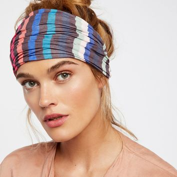 Free People Striped Wideband