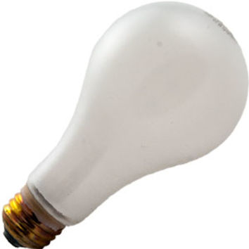 100A/TF - 100W A19 INCANDESCENT FROST ROUGH SERVICE