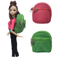 1PCS Doll Knapsack Bag Accessories backpack For Barbie Doll For BJD 1 6 doll Best Gift