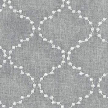 Upholstery Fabric-HGTV Home Pearl Drop Emb Smoke | Jo-Ann