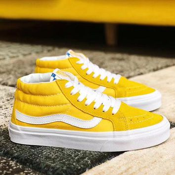Vans Sk8-Mid Old Skool Woman Men Fashion Sneakers Sport Shoes