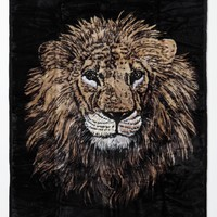 Diamond Supply Co Fillmore Lion Blanket - Mens Tees - Black - NOSZ