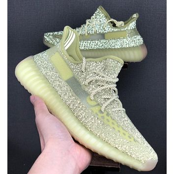 """Adidas Yeezy 350 Boost V2 """"Static Refective"""" Running shoes"""
