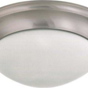 Nuvo 60-3316 - Twist & Lock Dome Large Flush Mount Ceiling Light