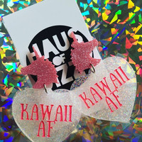 KAWAII AF UNICORN EARRINGS
