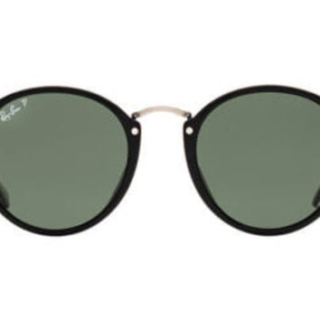 NEW SUNGLASSES RAY-BAN  ICONS ROUND 49 RB2447 in Black