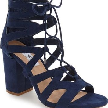 Steve Madden 'Gal' Strappy Lace-Up Sandal (Women) | Nordstrom