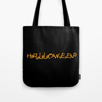 Halloween I Tote Bag by oldking