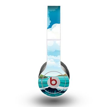 The Mountain & Water Art Color Scene Skin for the Beats by Dre Original Solo-Solo HD Headphones