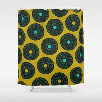 Starry Mexican Night Shower Curtain by Bestree Art Designs